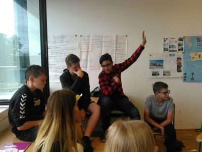 Schüler*innen der SMS Bad Vöslau